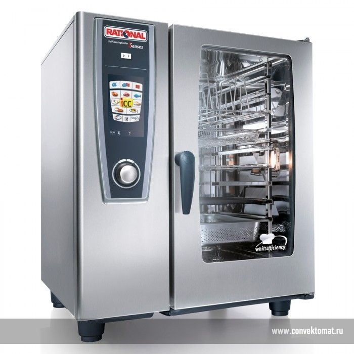 Пароконвектоматы Rational серии Self Cooking Center 5 senses