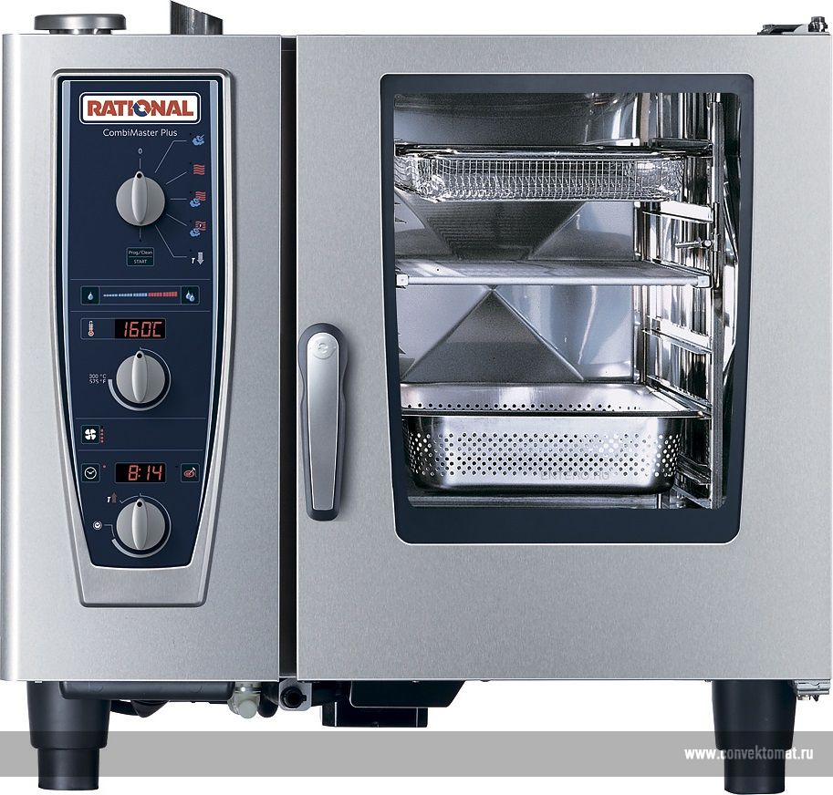 Пароконвектомат Rational CombiMaster CM 61G Plus